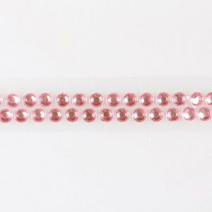 Rhinestone Cake Band - Light Pink